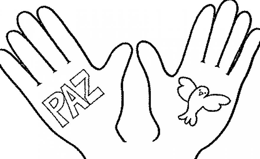 Dibujo sobre el dia de la paz - Imagui